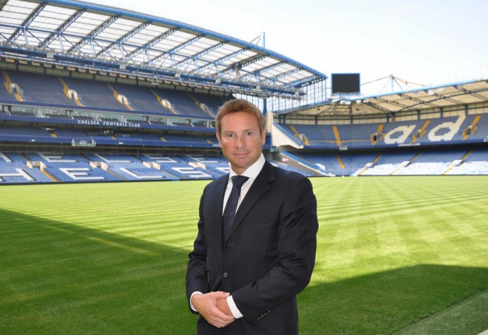 Chelsea Football Club's head of venue and development, Simon Hunter