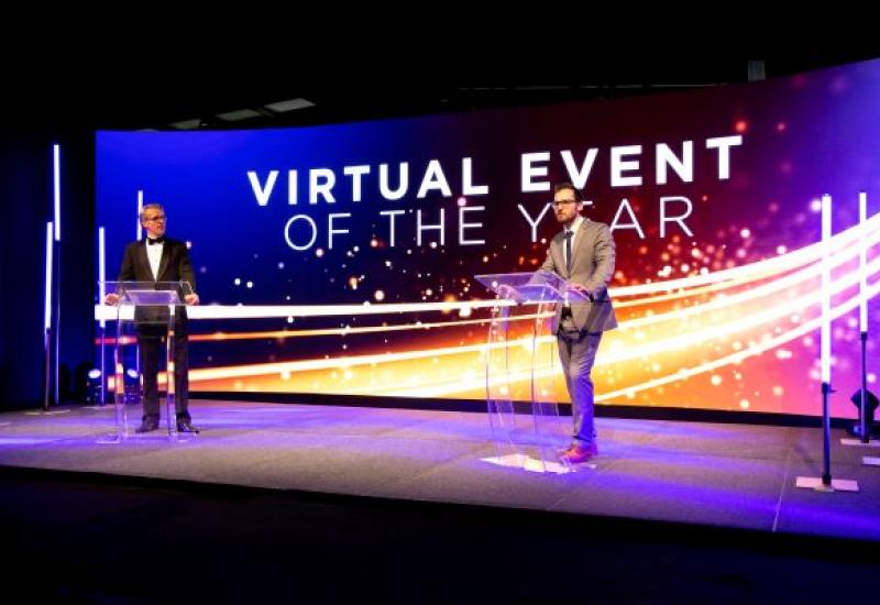 Virtual Event of the Year awards ceremony